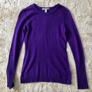 Autumn Cashmere Purple Cashmere Sweater